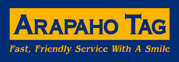 Arapaho Tag - Fast, Friendly Service With A Smile